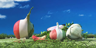 Illustration of vegetables Royalty Free Stock Photography