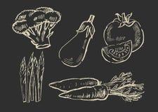 Illustration of vegetables Stock Image