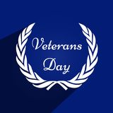 Illustration of Veterans Day Background. Illustration of elements of Veterans Day Background Royalty Free Stock Images