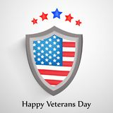 Illustration of Veterans Day Background. Illustration of elements of Veterans Day Background Royalty Free Stock Photos