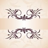 Illustration vintage background Stock Photos
