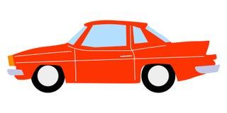 Illustration of vintage cars. Vector illustration of vintage cars Stock Photo