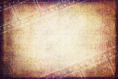 Illustration vintage film background Stock Images
