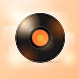 Illustration of vinyl disc Royalty Free Stock Image