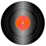 Illustration of a vinyl record. Drawing of an LP record Royalty Free Stock Photos