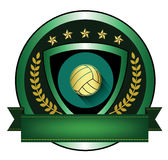 Illustration of Volleyball logo Stock Images