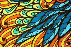 Illustration von Blättern Lizenzfreies Stockbild