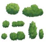 Illustration von Bush Lizenzfreie Stockfotos