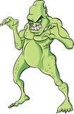 Illustration von furchtsamem Reptilmeer Lizenzfreie Stockfotos