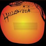 Illustration von Halloween-Brett Lizenzfreie Stockfotos