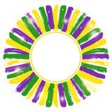 Illustration von Mardi Gras-Hintergrund Lizenzfreies Stockfoto