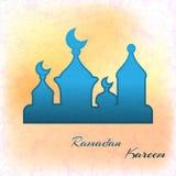 Illustration von Ramadan Kareem Lizenzfreie Stockfotografie
