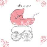 Illustration von rosa parm für Mädchen Lizenzfreies Stockfoto
