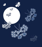 Illustration von Schmetterlingen Stockbilder