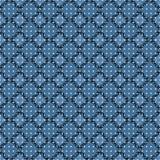 Illustration von Spitzen- Rautenformen im geometrischen Muster lizenzfreie abbildung