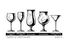 Illustration von Stemwarearten stock abbildung