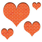 Wall of love Royalty Free Stock Images