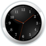 Illustration of wall clock Royalty Free Stock Photography