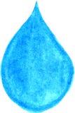 Illustration water drop Royalty Free Stock Photo