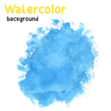 Illustration with watercolor background Royalty Free Stock Images