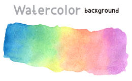 Illustration with watercolor background Stock Image