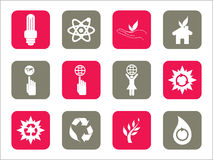 Illustration of web icons Stock Photos