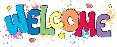 Welcome written background. Illustration of welcome written in fun background Stock Images