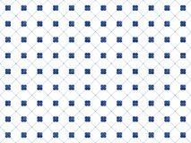 Illustration of white and blue tiles textured geometric pattern stock illustration