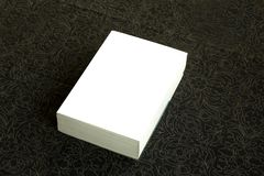 White book cover. Illustration of the white cover book Royalty Free Stock Image