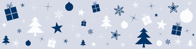 Free Illustration With Christmas Balls And Various Festive Ornaments Stock Image - 160301231