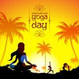 International Yoga Day Royalty Free Stock Photos