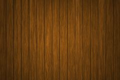 Illustration wooden background, The surface of the old brown wood texture, top view wood paneling vector illustration