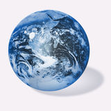 Illustration world globe. HQ illustration world globe on white Stock Image