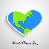 Illustration of World Heart Day Background. Illustration of elements of World Heart Day Background Royalty Free Stock Photography