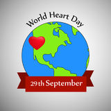 Illustration of World Heart Day Background. Illustration of elements of World Heart Day Background Stock Photo