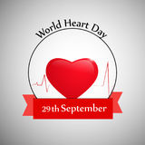 Illustration of World Heart Day Background. Illustration of elements of World Heart Day Background Royalty Free Stock Photos