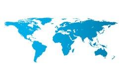 Illustration of world map Royalty Free Stock Photography