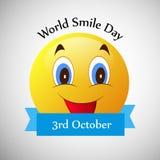 Illustration of World Smile Day Background Royalty Free Stock Photo