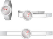 Illustration of wristwatch Stock Photography