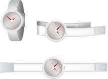 Illustration of wristwatch Stock Photography