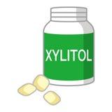 Illustration of Xylitol gum Royalty Free Stock Photo