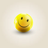 Yellow smile Royalty Free Stock Photography