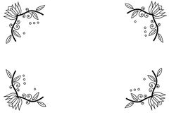 Illustration2 abstrato Imagens de Stock Royalty Free