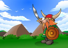 Viking man Royaltyfri Bild