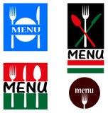 Illustrationen für Restaurant lizenzfreie abbildung