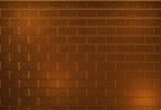 Den guld- väggen texturerar Royaltyfri Fotografi