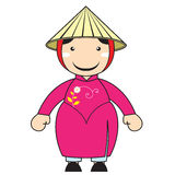 kinesisk yunnan tecknad film Arkivbild