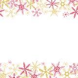 illustrationer för jul för bakgrundskontroll lätta redigerande grupperade mer min var god portföljsnowflakevinter Royaltyfri Bild