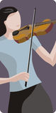 illustrationmusikerserie Royaltyfria Bilder