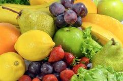 Illustrations 03 de fruits et légumes Photo libre de droits